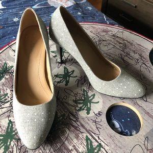 Polka dotted heels